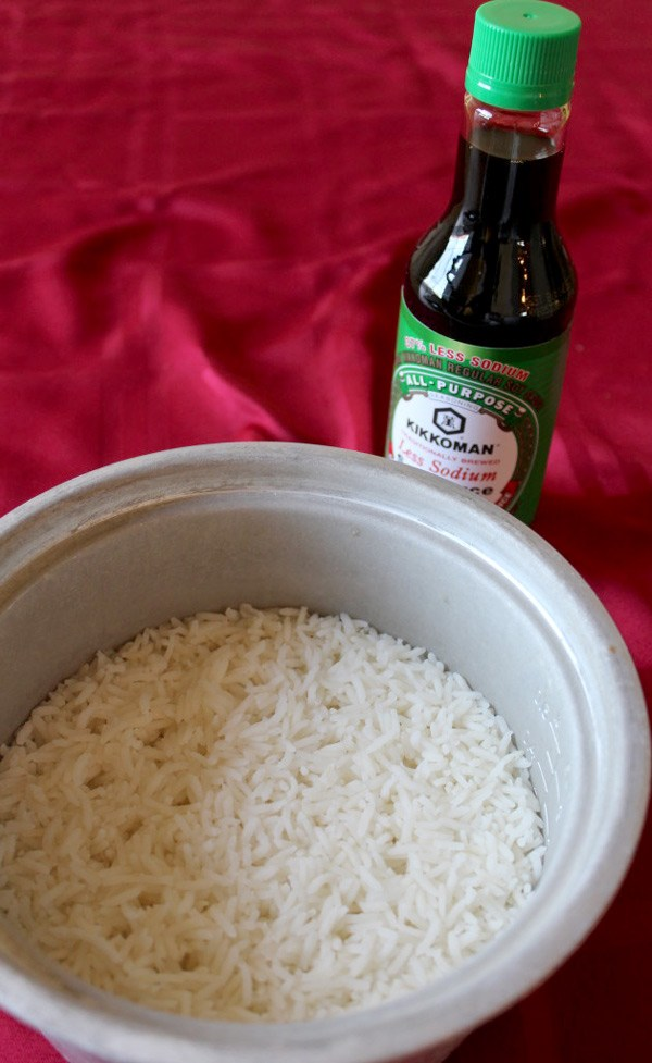 Soy Sauce and Rice