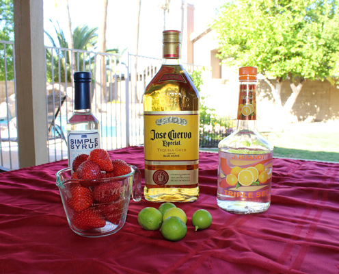 Strawberry Margarita Ingredients
