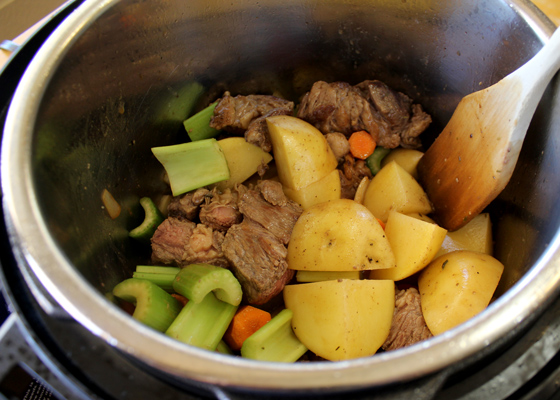 Add all the ingredients to Instant Pot.