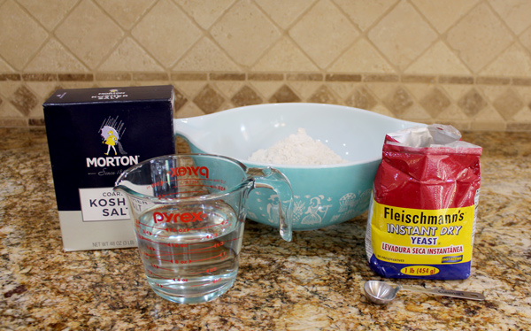 Ingredients for Easy Homemade Bread