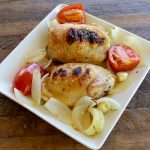 Broiled Chicken Thighs